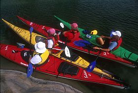 Kayak group photo
