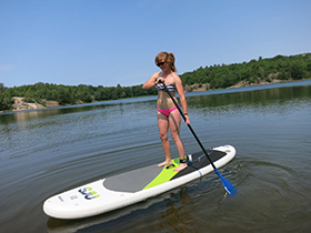 Stand Up Paddle Boards, SUP Killarney Ontario