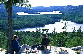Hike to the Crack, Killarney Provincial Park