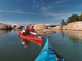 "Sea Kayak 		             Phillip Edward Island, Georgian Bay, Killarney Ontario. Ranked: ""Best fresh water kayaking in Canada"""