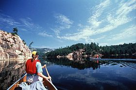 Paddle Killarney 		             Provincial Park, pristine lakes, undisturbed wildlife and great campsites.