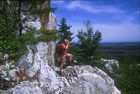 La Cloche Hiking trail