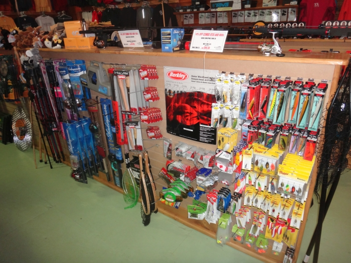 Need some tackle? Well stocked for Fishing Killarney Provincial Park and Georgain Bay