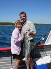 Have you caught a Big one Lately? Best fishing on the Bay!