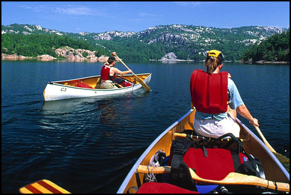 paddling and hiking in ontarios southern shield country